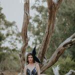 Millinery Editorial shoot - Melbourne Milliner velvet et&tonic