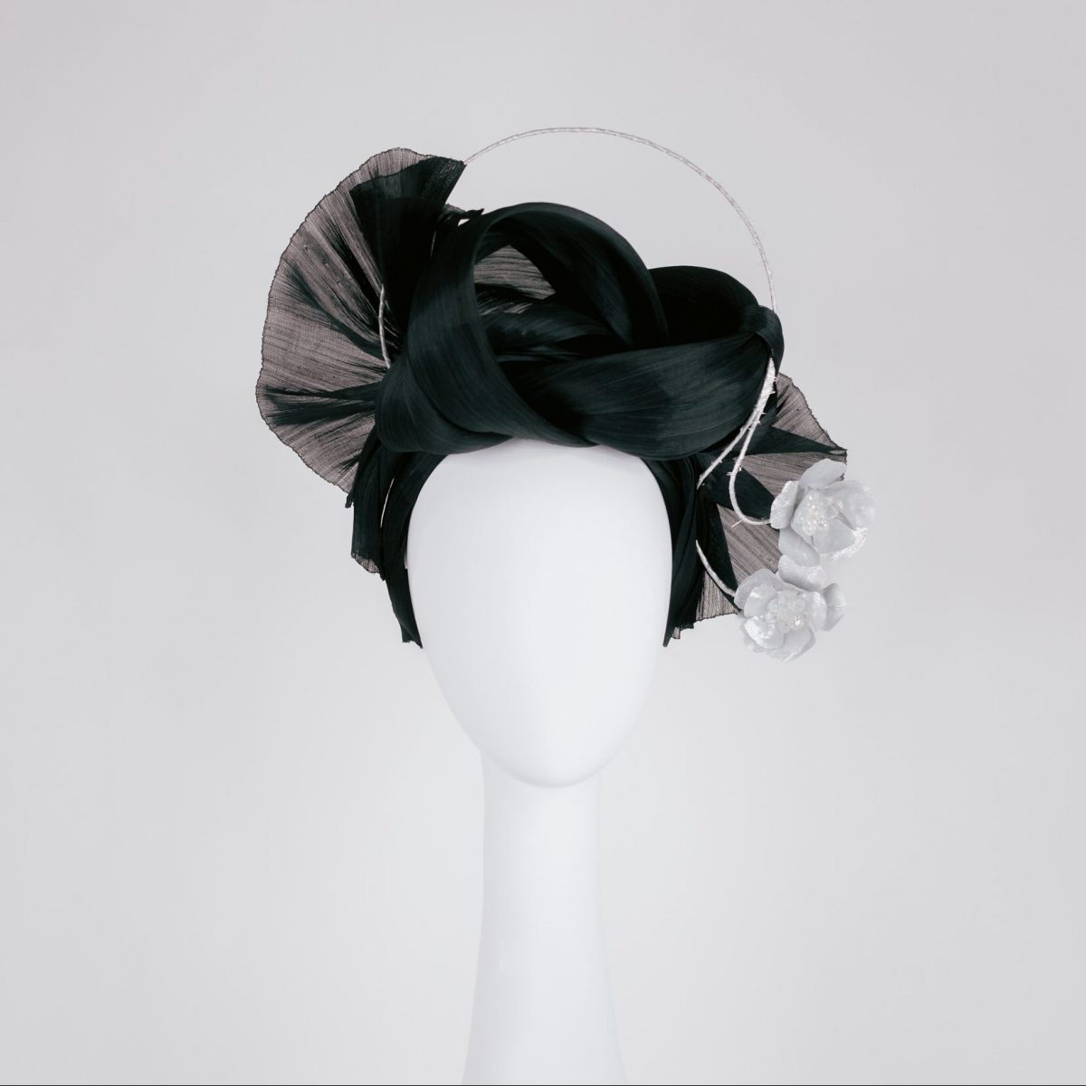 modern millinery - unique designs in black