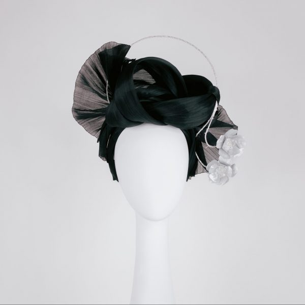 Millinery-Black-SilkAbaca-Headpiece-4-001