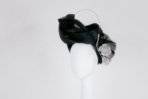 Millinery-Black-SilkAbaca-Headpiece-4-002