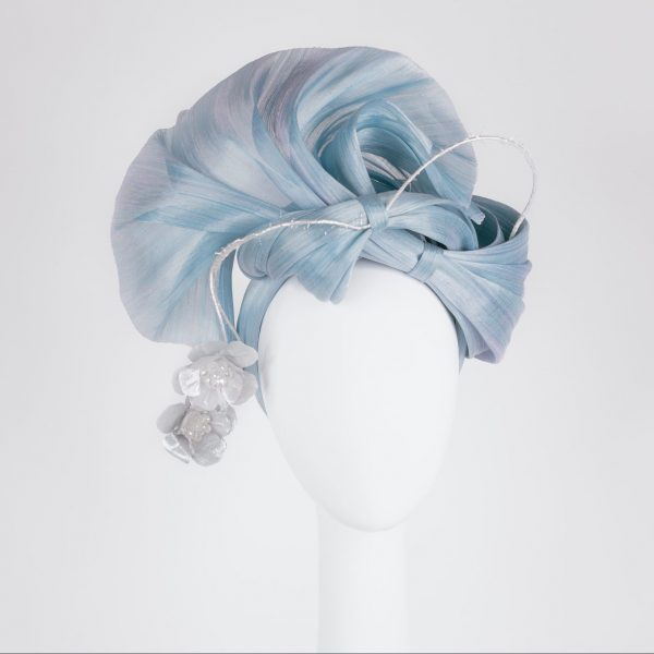 Millinery-Blue-SilkAbaca-Headpiece-6-001
