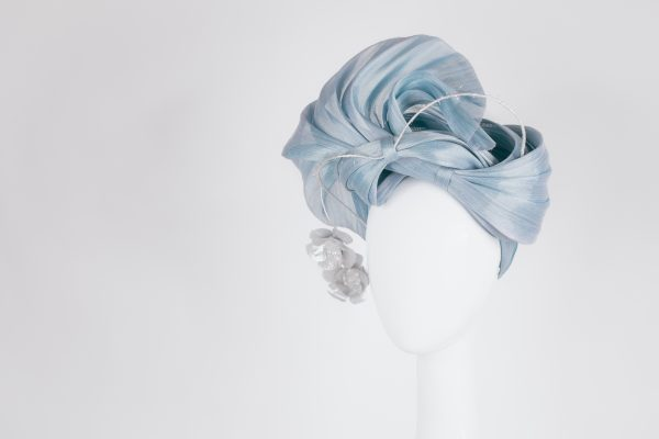 Millinery-Blue-SilkAbaca-Headpiece-6-002