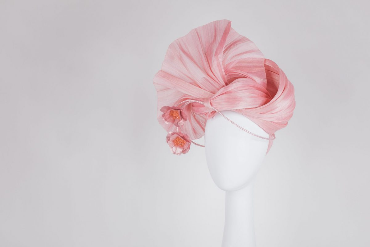Stunning Millinery from Melbourne for the Dubai Races