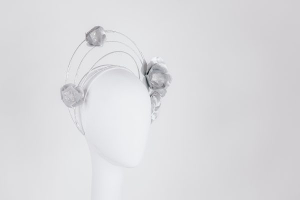 Millinery silver - handmade headpieces for the races