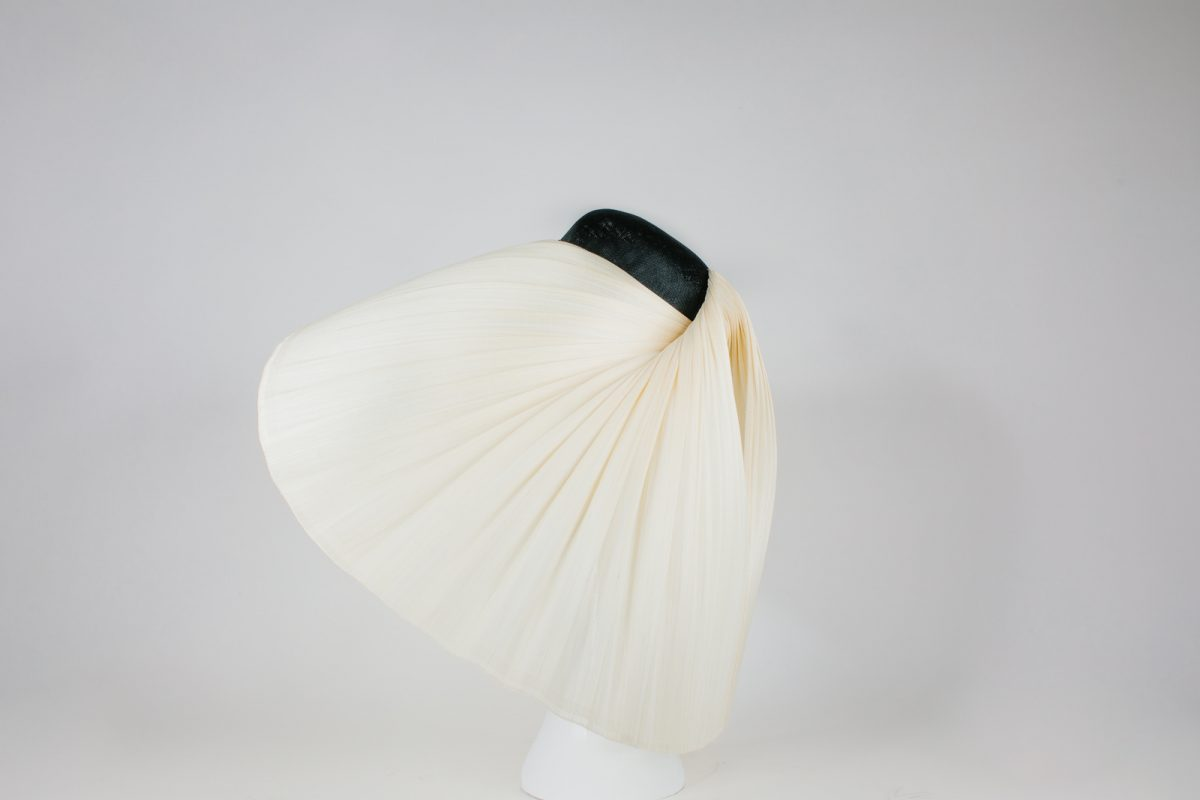 product photos - black and white millinery - couture