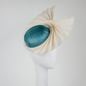 colour combinations for millinery - custom made hat