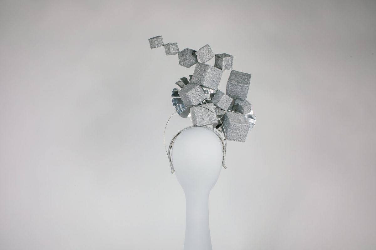 millinery award piece - one off design - unique for the melbourne spring racing carnival - now for purchase