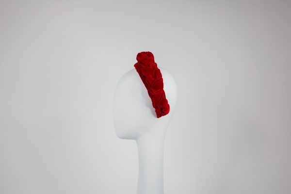 product photo - millinery for sale - red headband