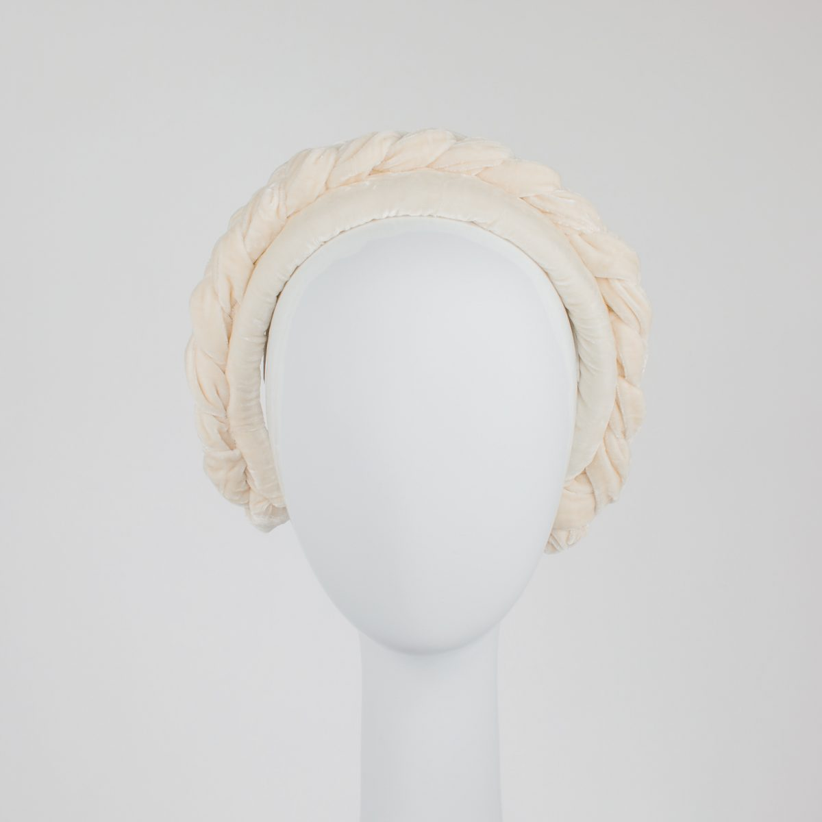 cream headband - Melbourne Millinery