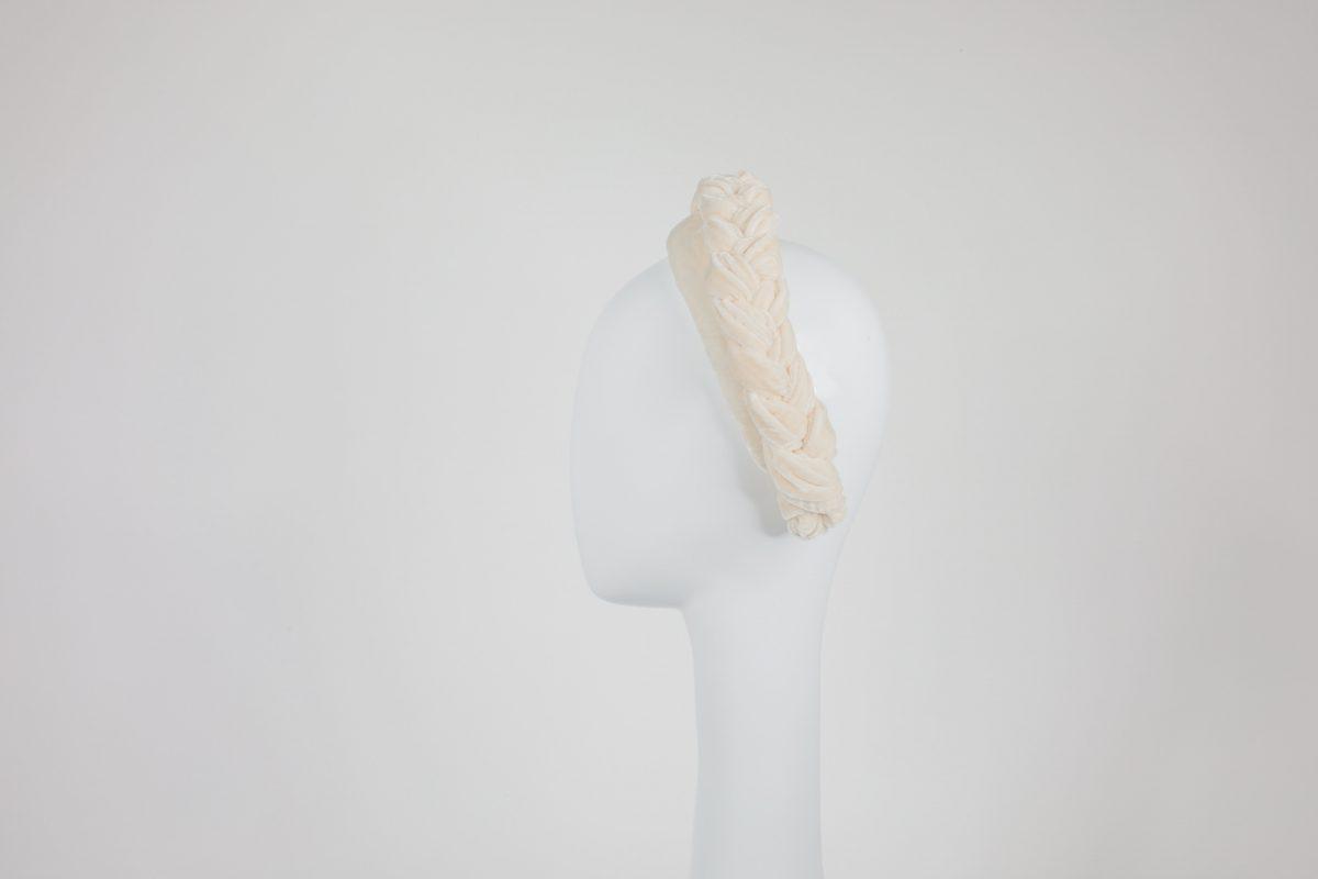 cream headband side