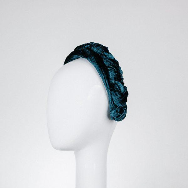 teal blue headband