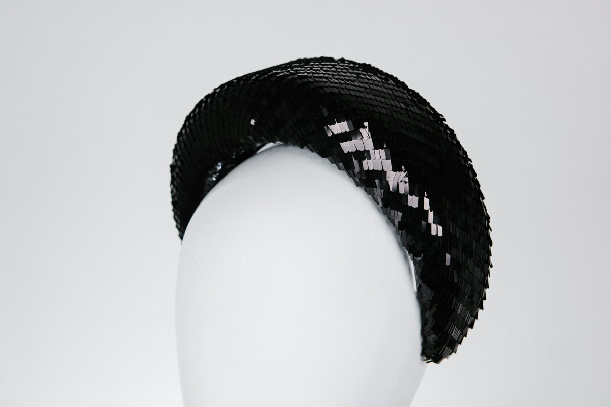 luxury party headband for cocktail parties