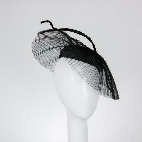 stylish black hat - party