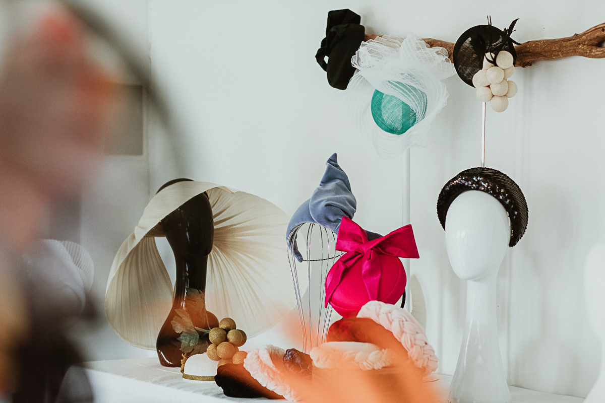 luxury Millinery range by velvet & tonic