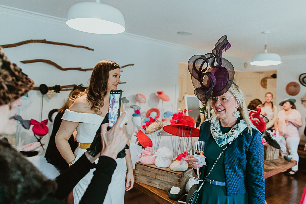 chapeaux and champagne event