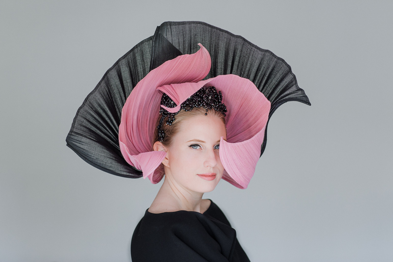 Aurora - Winning Millinery - Hattalk Magazine 2020 Winning Piece by Souri Sengdara - Velvet & Tonic Millinery