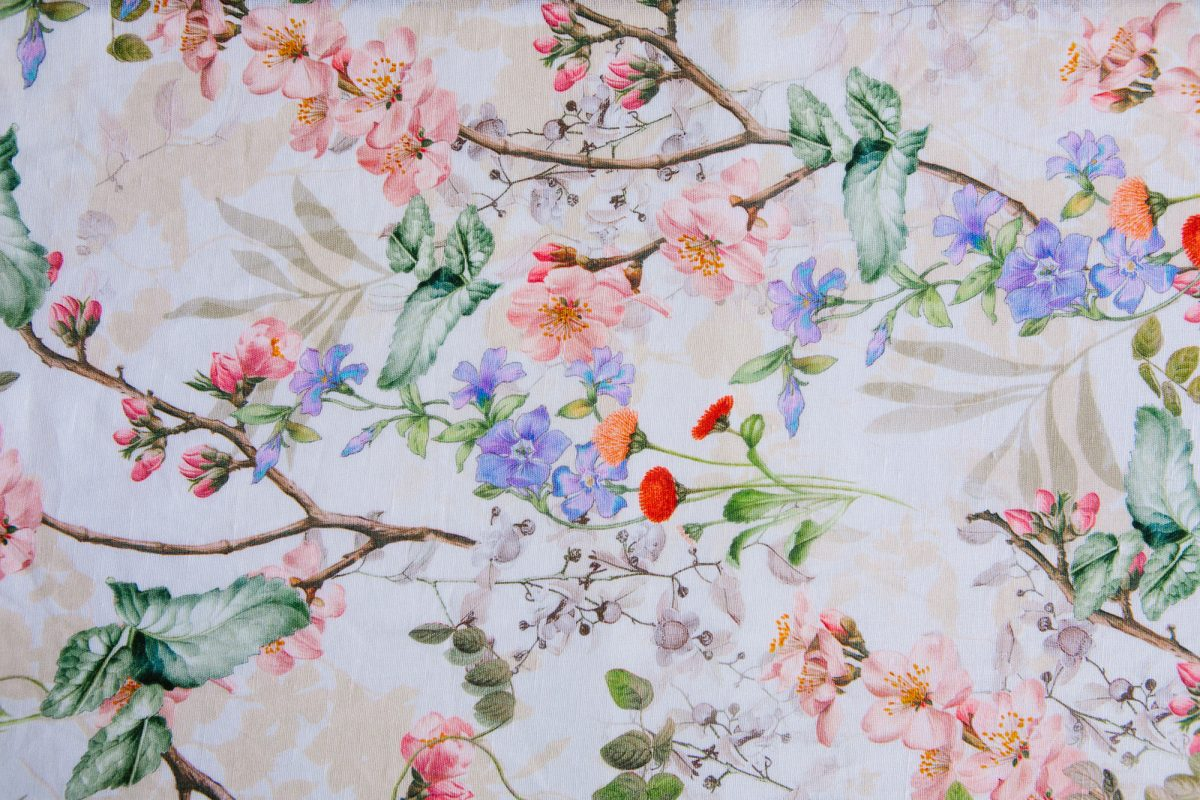 floral fabric001